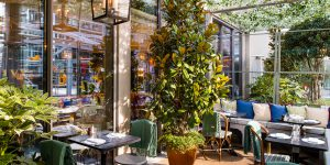 The Ivy in the Park, Canay Wharf Interiors 8