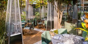 The Ivy in the Park, Canay Wharf Interiors 9