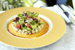 Crab and Apple Salad