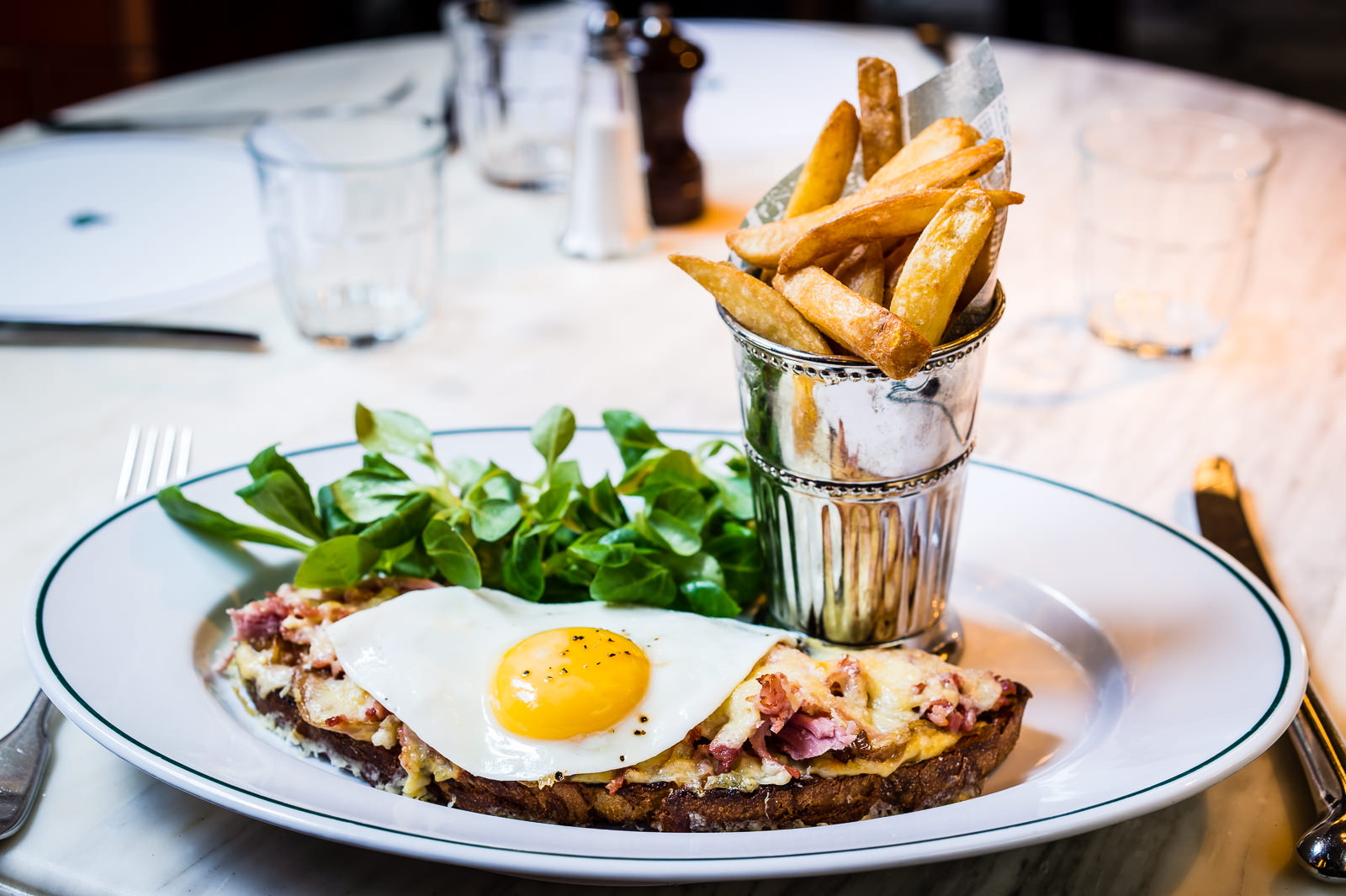 Croque Madame the Ivy Cafe Marylebone - The Ivy Cafe Marylebone