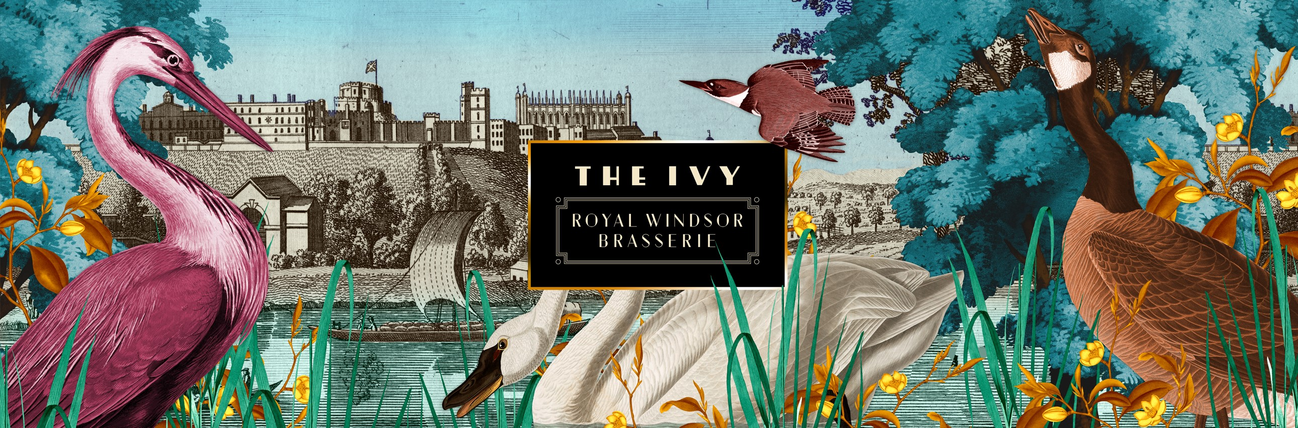 Sign up to our newsletter - The Ivy Royal Windsor