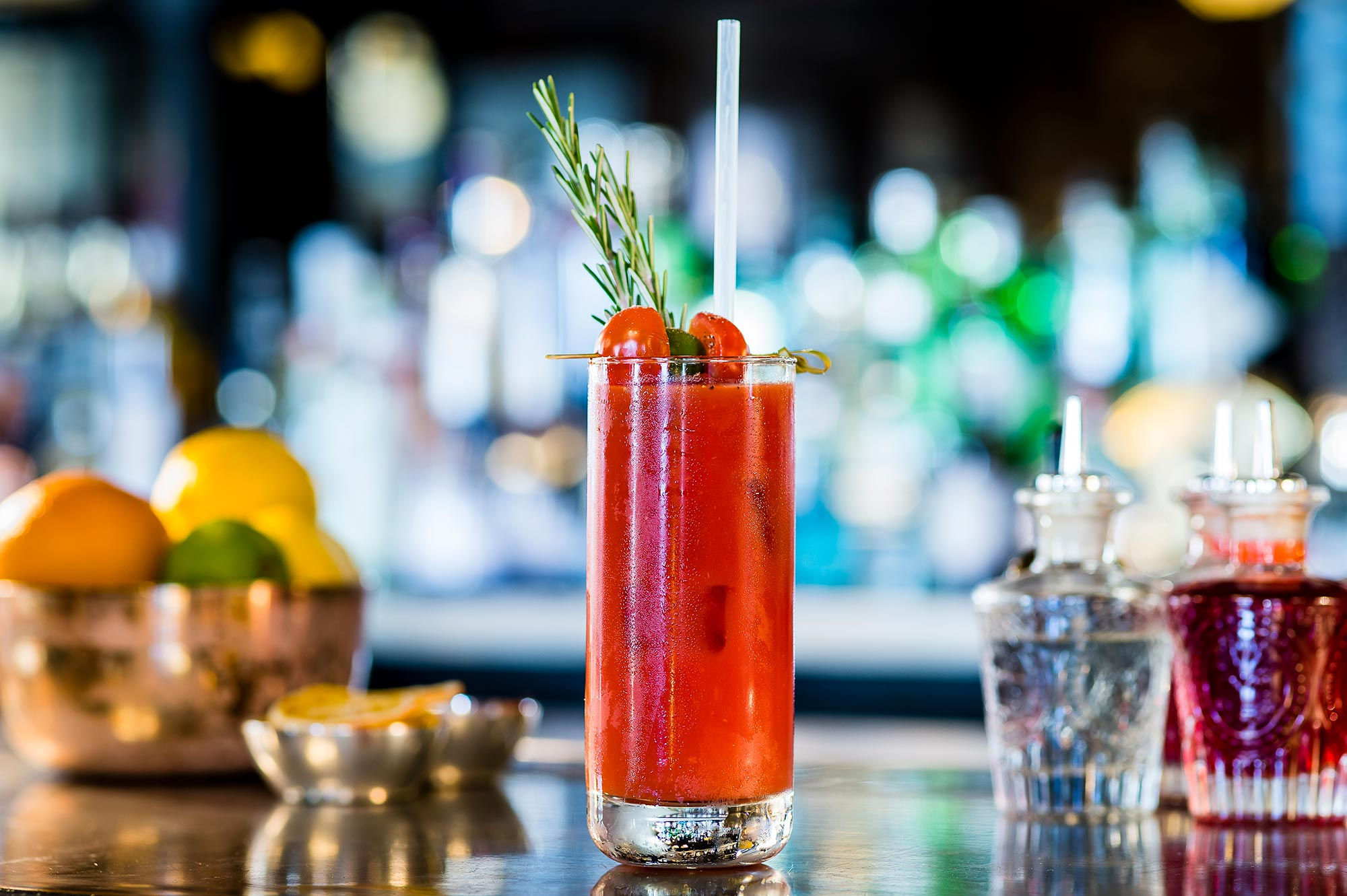Bloody Mary at the Ivy Chelsea Garden - The Ivy Chelsea Garden