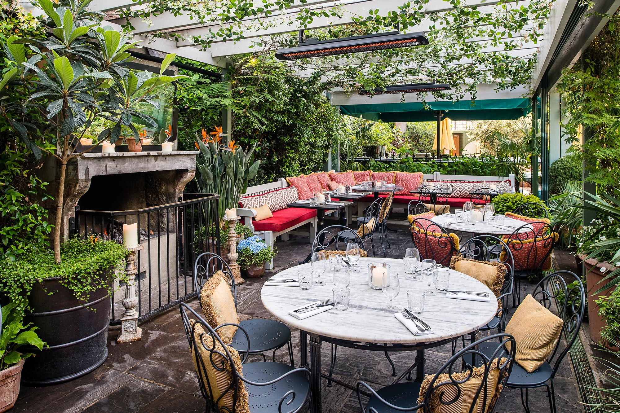 Outdoor Seatings at The Ivy Chelsea Garden - The Ivy Chelsea Garden