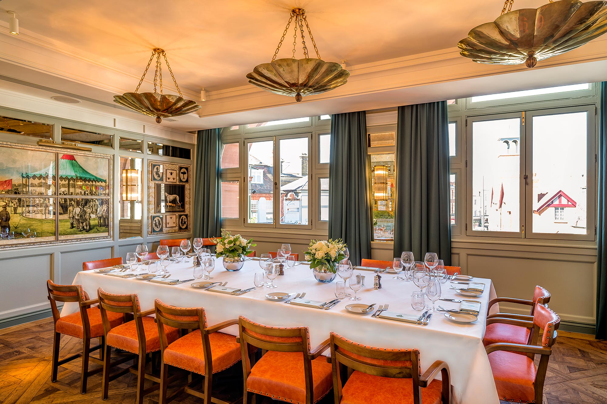 Private Dining Room - The Ivy Cafe Wimbledon - The Ivy Cafe Wimbledon