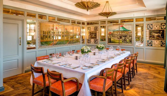 The Private Dining Room at The Ivy Cafe Wimbledon - The Ivy Cafe Wimbledon