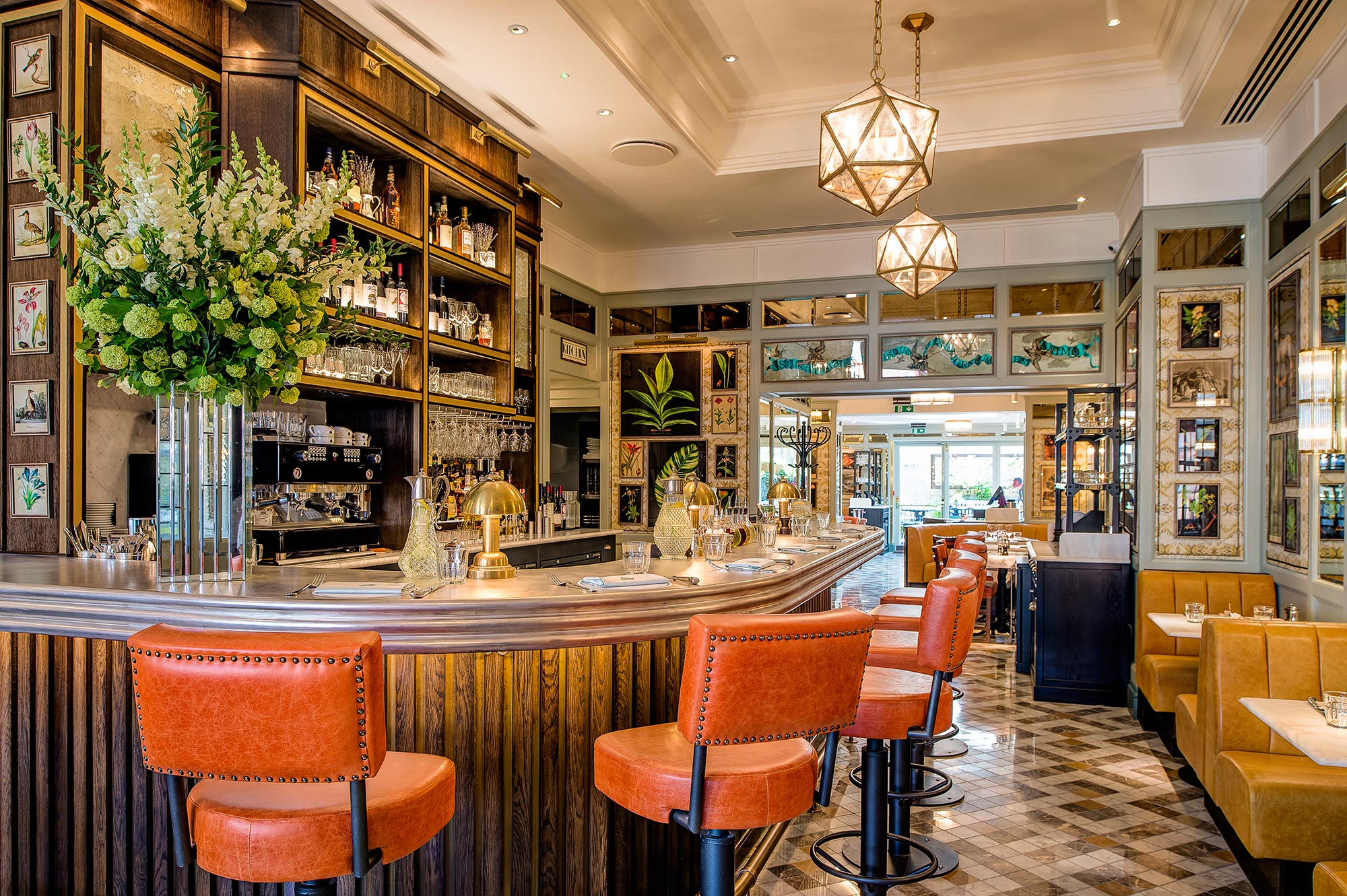 Restaurant Image Gallery The Ivy Cafe Wimbledon London